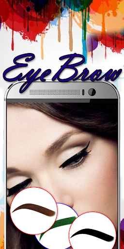 Eyebrow Shaping App - Beauty Makeup Photo  screenshots 2