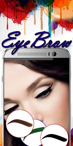 Eyebrow Shaping App - Beauty Makeup Photo 6.1 screenshots 2