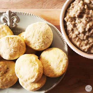 Southern Biscuits And Gravy.