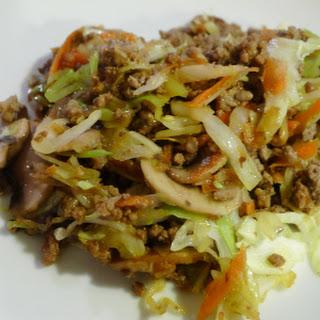 Asian Ground Beef Stir Fry (From Feeding My Kid) Recipe