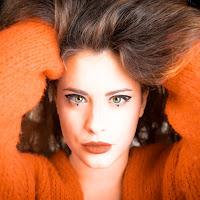 Orange portrait. di