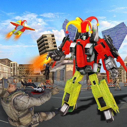 動作App|X線ピエロロボット大戦 LOGO-3C達人阿輝的APP
