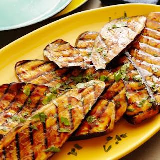 Spicy Hoisin Glazed Eggplant.