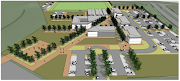 An artist's impression of what False Bay College's new Mitchells Plain campus could look like.