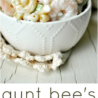 Aunt Bee's Shrimp and Pasta Salad.