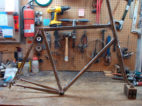 Photo: Finished frame and fork.