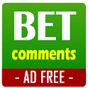 Bet Comments - AD FREE icon