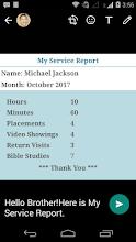 My Service Report screenshot thumbnail