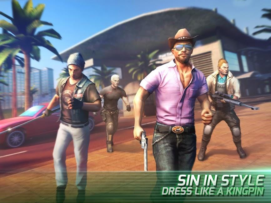 #3. Gangstar Vegas - mafia game (Android)