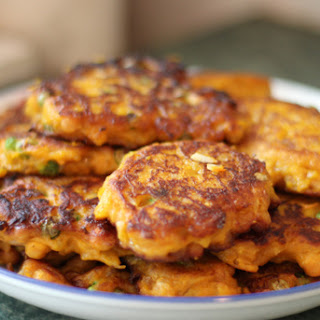 Parmesan & Pumpkin Fritters Recipe
