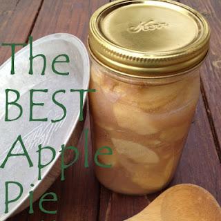 The Best Apple Pie Filling.