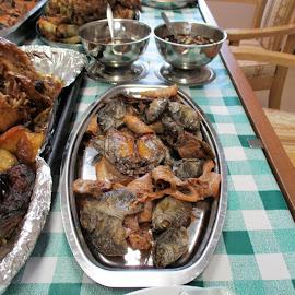 Dried Squid by Florante Lamando - Food & Drink Plated Food