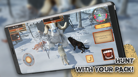 Wolf Simulator Evolution MOD (Unlimited Currency) 1