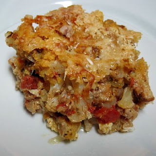 Cauliflower And Turkey Sausage Casserole