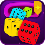 Magical dice - Merge Puzzle -  Color Match Dice icon