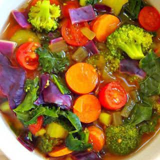 Cleansing Detox Soup [Vegan].