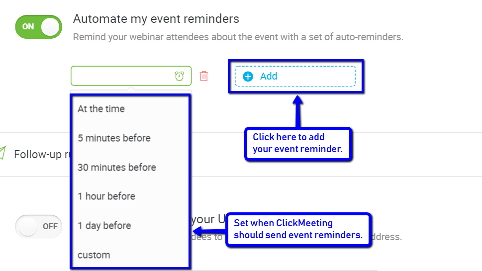 How to Automate Your Webinars and Boost Your Sales With ClickMeeting 9