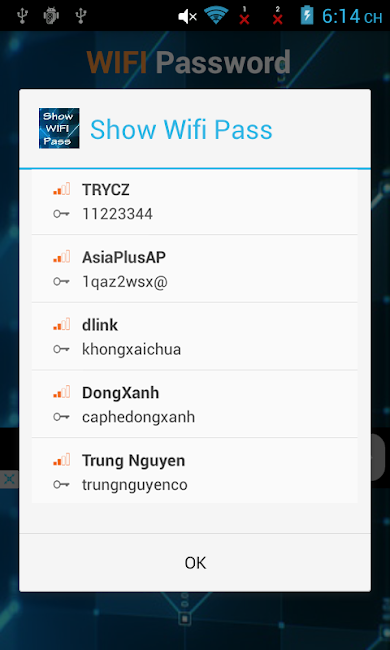 #1. Show Wifi Password 2016 - Root (Android)
