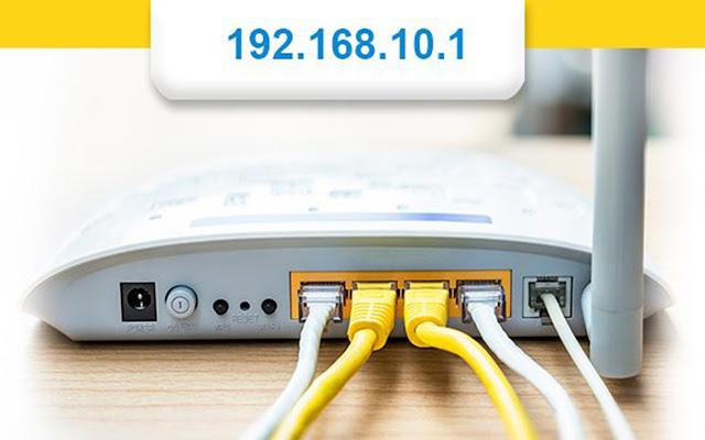 192.168.10.1 Admin login