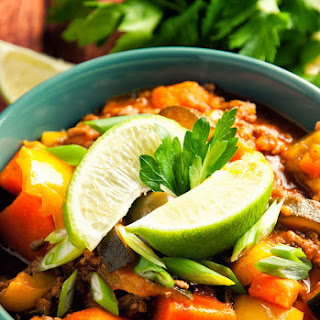 Thai Beef Chili.