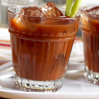 Classic V8 Bloody Mary.