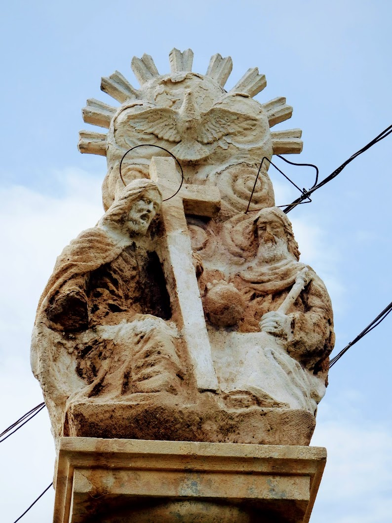 Vép - Szentháromság-szobor