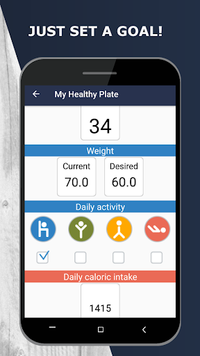 My Healthy Plate screenshot 1