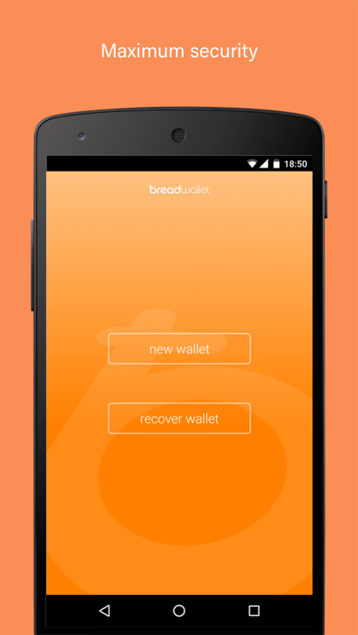 breadwallet - bitcoin wallet- screenshot