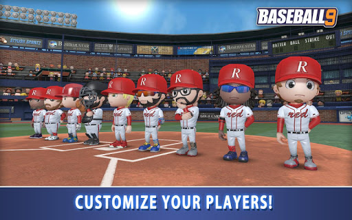 BASEBALL 9 1.4.7 screenshots 17