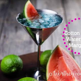 Cotton Candy Watermelon Margarita.