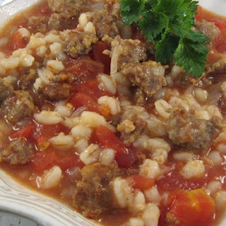 Mom's Italian Beef Barley Soup