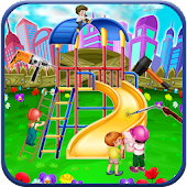 Kids Park Repair: Amusement Playground Builder