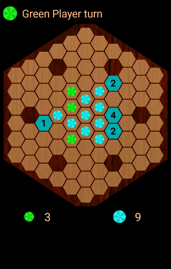 Reversi Hexagonal- screenshot