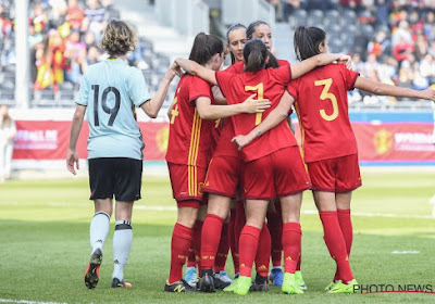 Les goals d'Espagne - Belgique