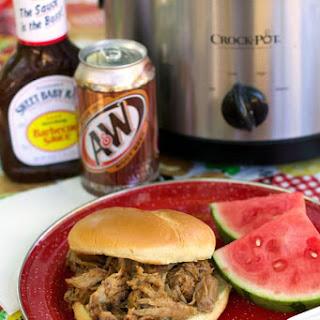 Slow Cooker Root Beer Pulled Pork Recipe