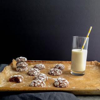Chocolate Crinkle Cookies Aka Brownie Cookies