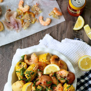 Easy Summer Shrimp Boil.