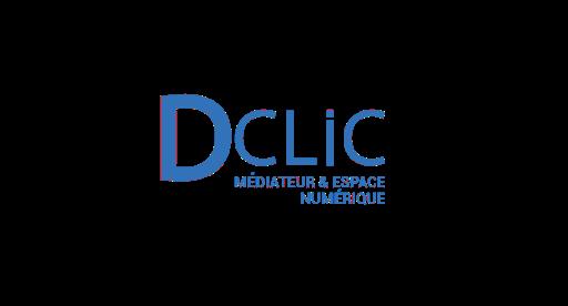 Dclic médiateur et espace numérique logo
