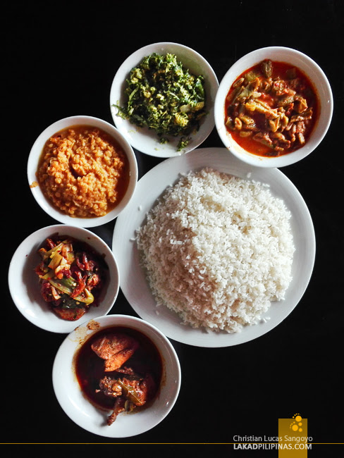Sri Lanka Food Rice And Curry
