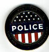 Photo: Blacksburg Police, Challenge Coin (Reverse)