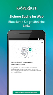 Kaspersky Mobile Antivirus: Web Security & AppLock – Miniaturansicht des Screenshots