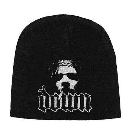 Down Beanie Hat: Logo/Face