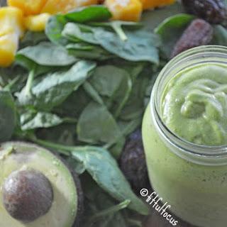 Mango Green Smoothie {Vegan, Gluten Free} Recipe