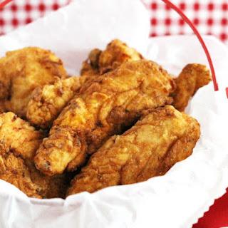 Breaded Chicken Tenders.