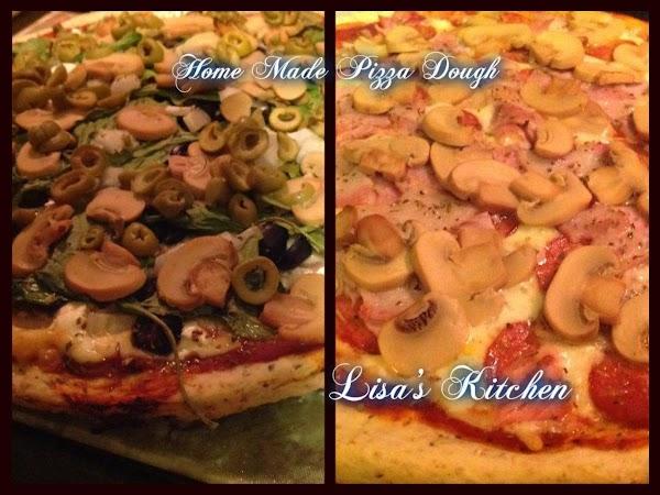 Lisa's Home Made Pizza Dough Recipe