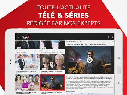 Télé 7 – Programme TV & Replay- screenshot thumbnail