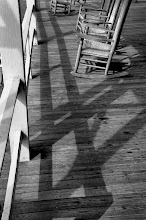 Photo: Porch Rockers and Shadows