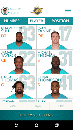 Official Miami Dolphins 2.10 screenshot 322304