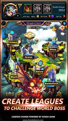 Legends Charge - screenshot