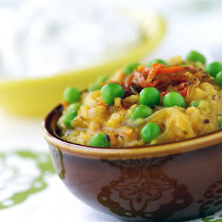 Red Lentil Dal with Caramelized Onions
